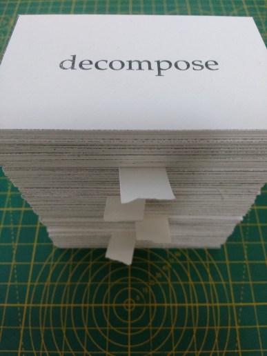 Elements, cards (prototype), 2018 2018